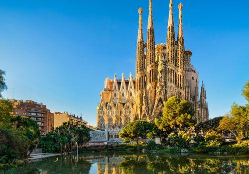 The Basílica de la Sagrada Família