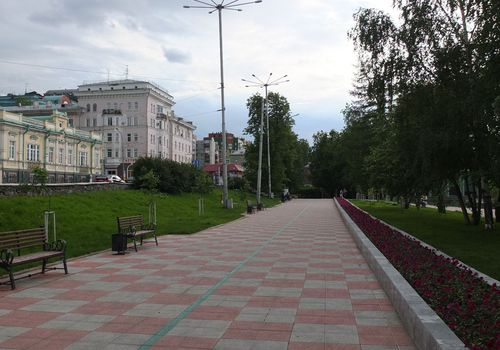 Сквер имени Решетникова
