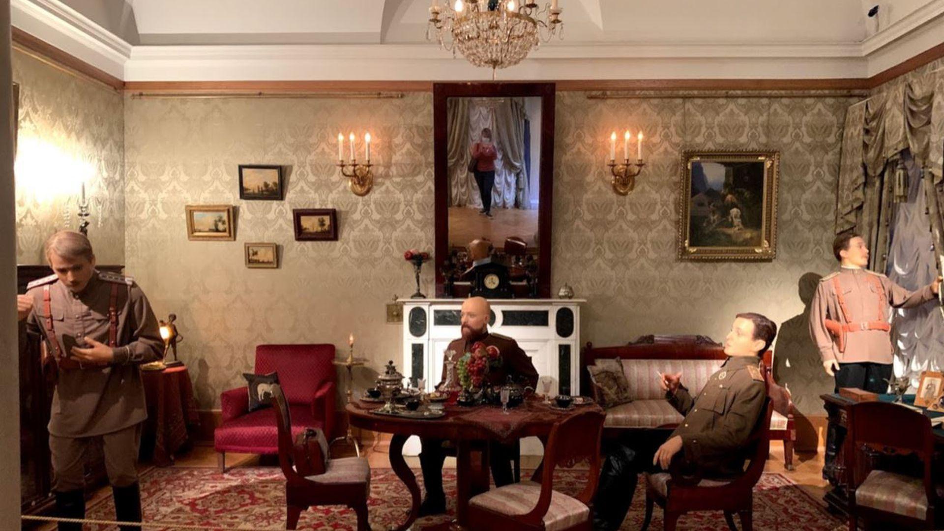Юсуповский дворец: экспозиция «Убийство Распутина» и половины молодых князей