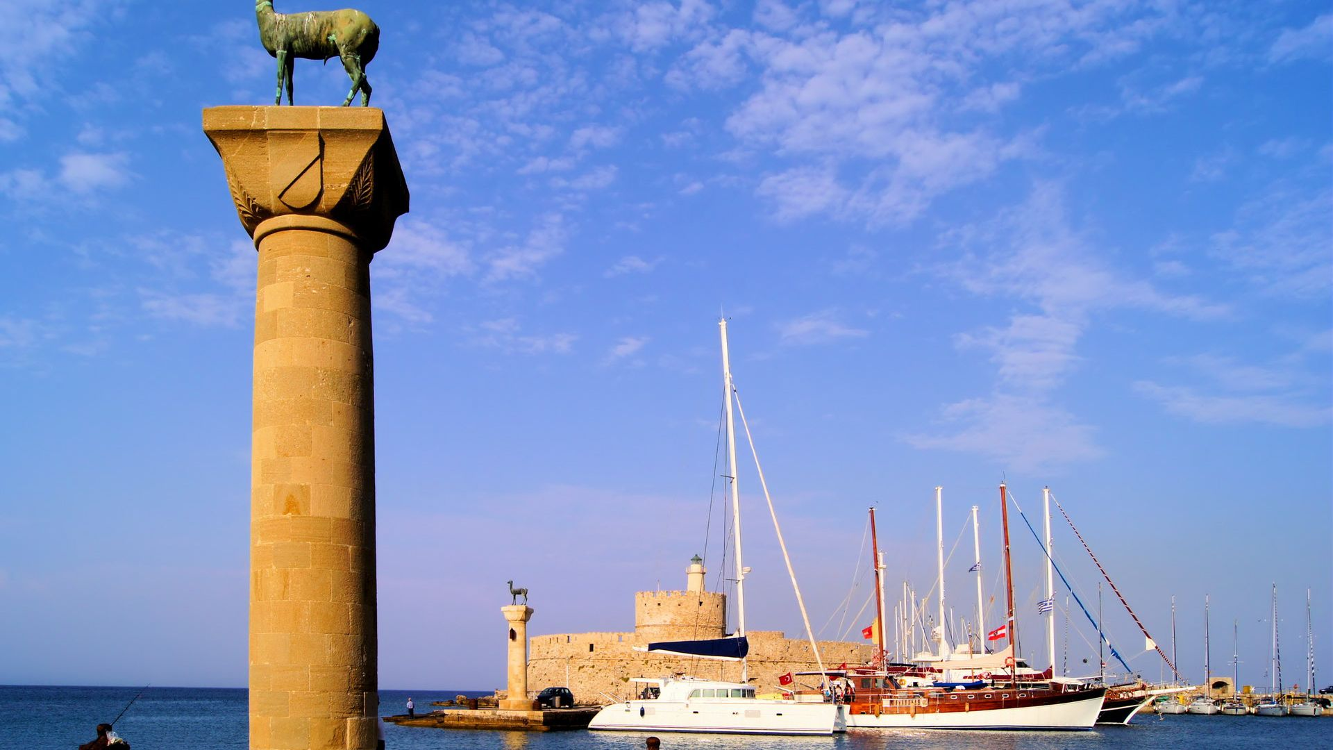 Catamaran Roundtrip from Marmaris to Rhodes