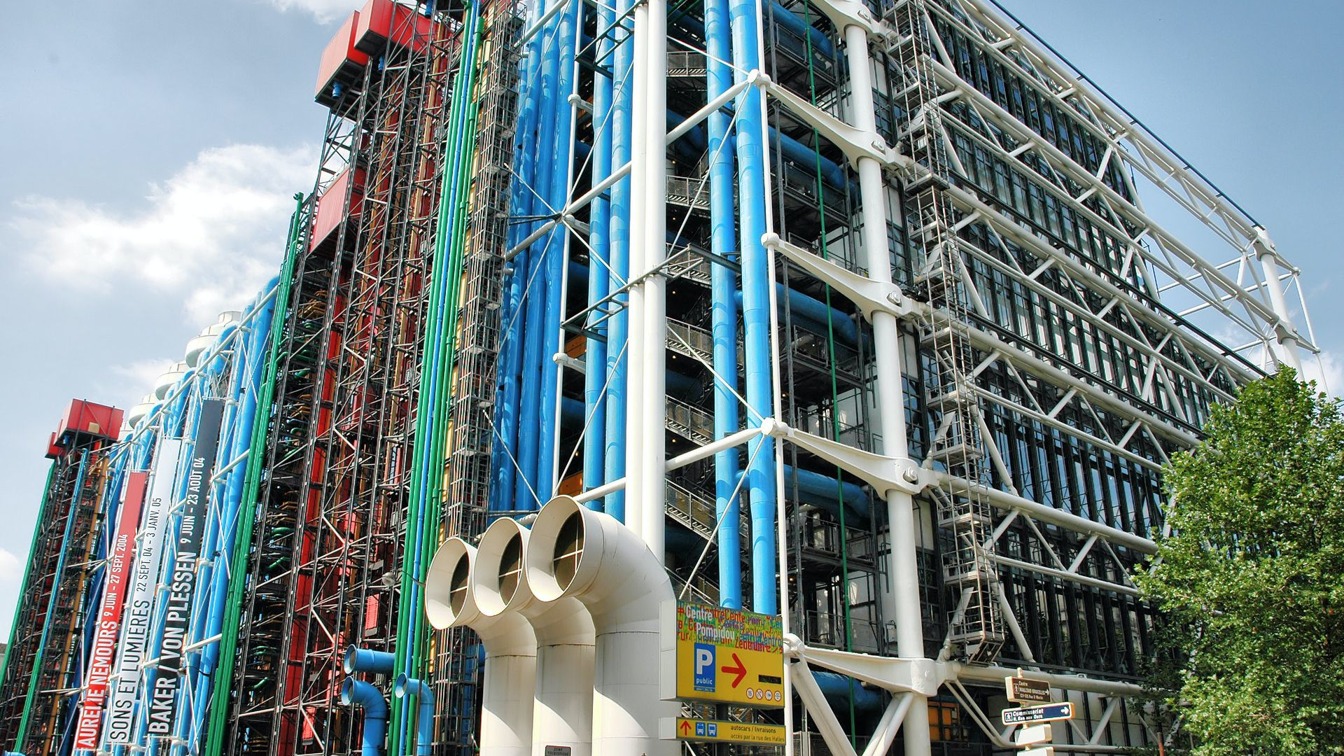 Centre Pompidou: Christo and Jeanne-Claude Exhibition