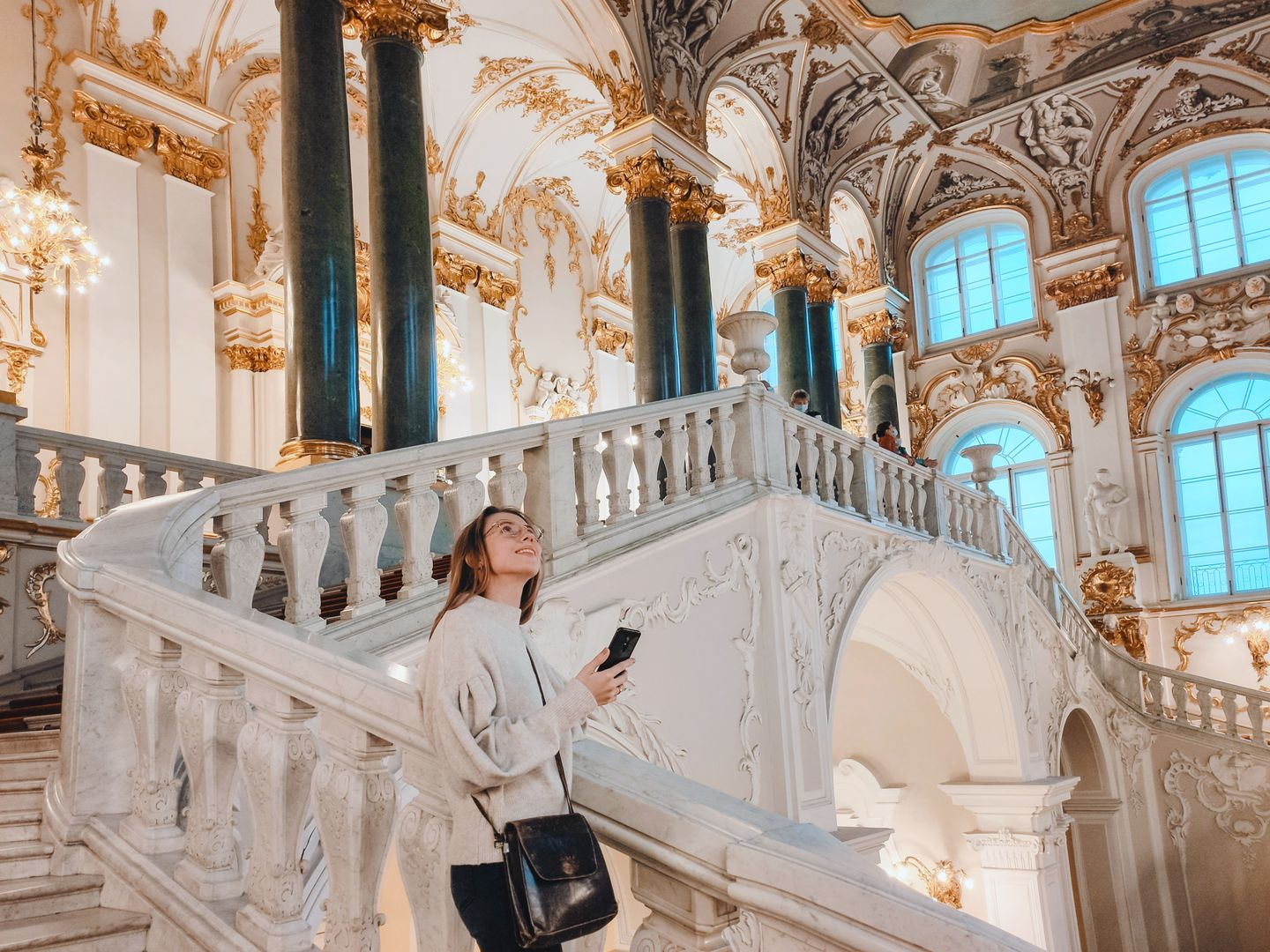 The Hermitage: Ticket & Audio tour of the state rooms and the main masterpieces