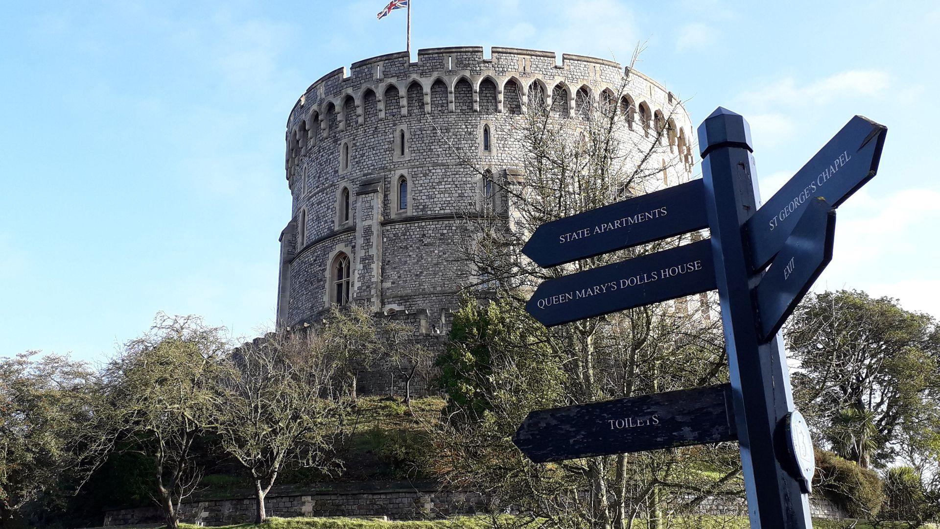 Windsor Castle: Admission Ticket & Audio Tour