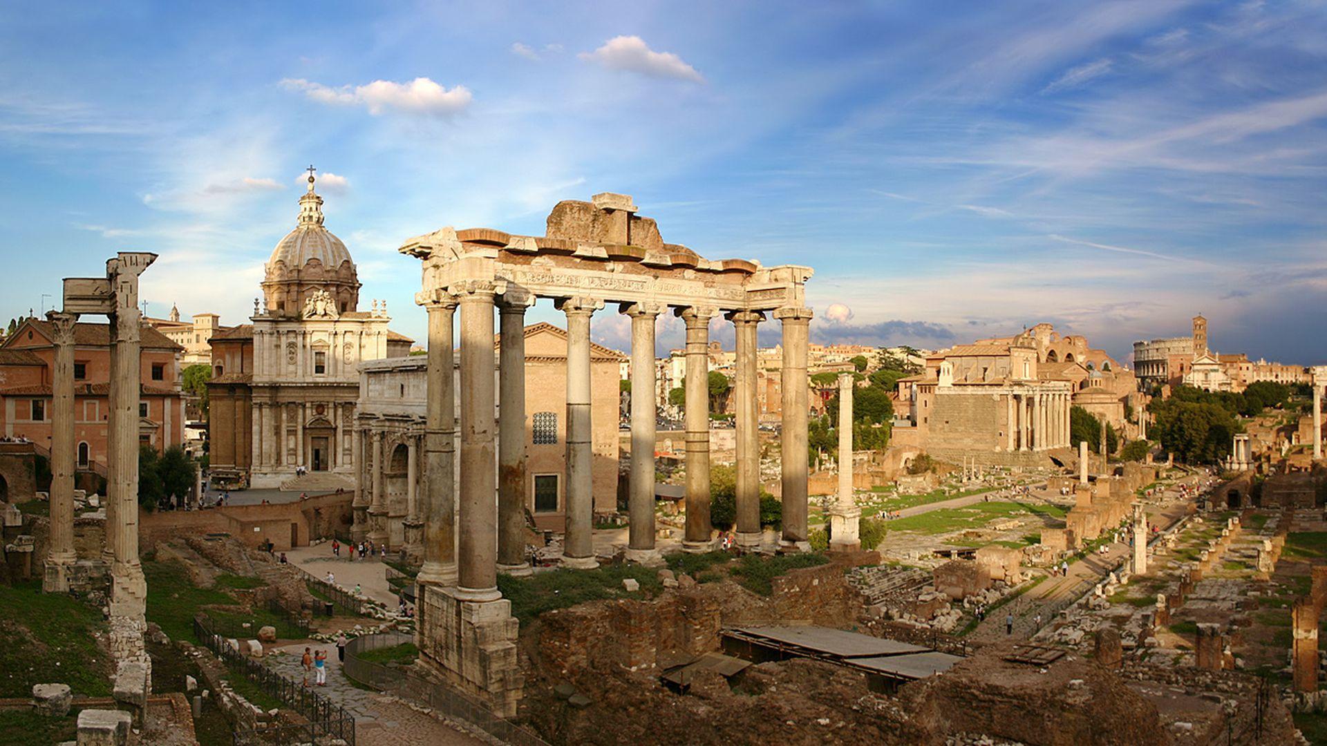 Обзорная прогулка по Древнему Риму