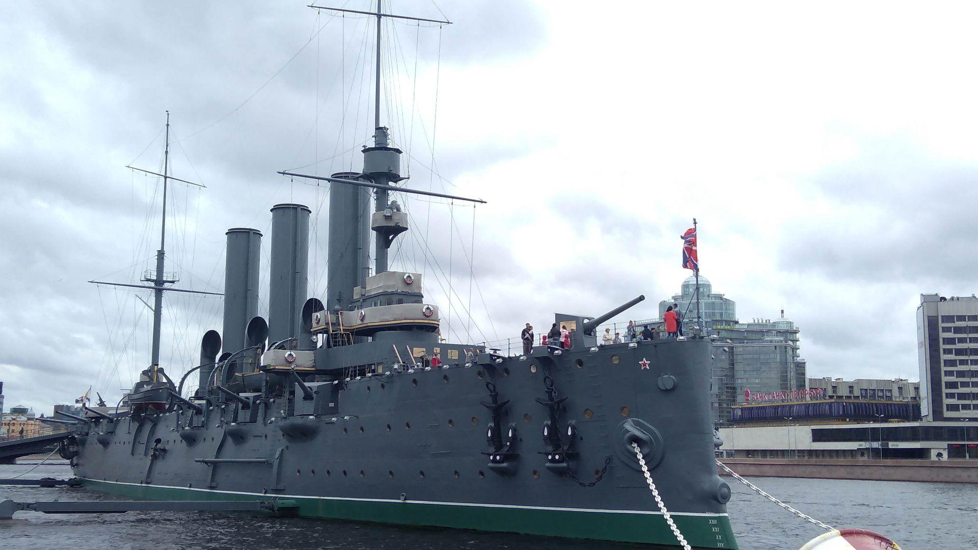 Крейсер Аврора: история одного корабля