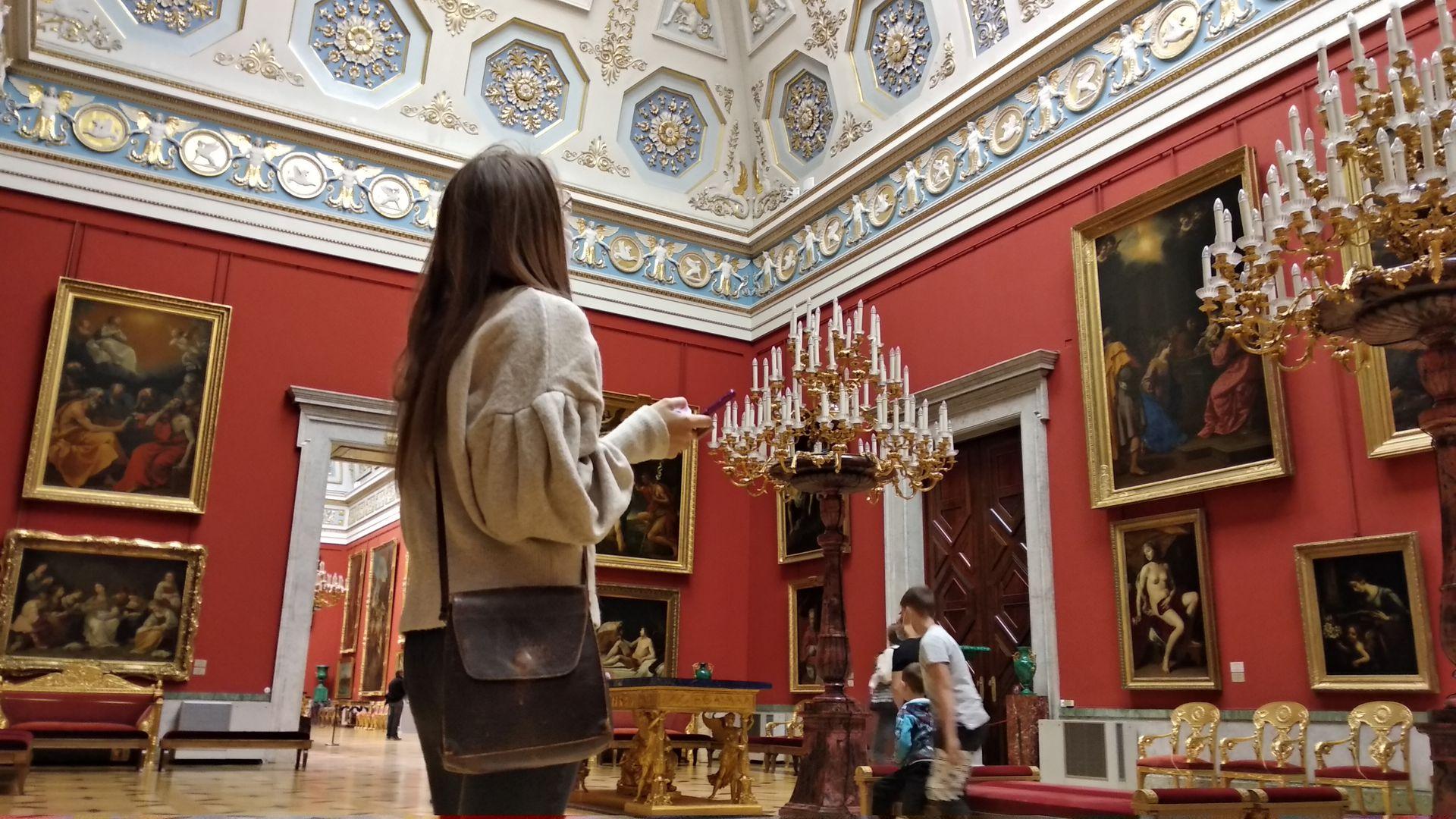 Эрмитаж: полное погружение в историю искусства