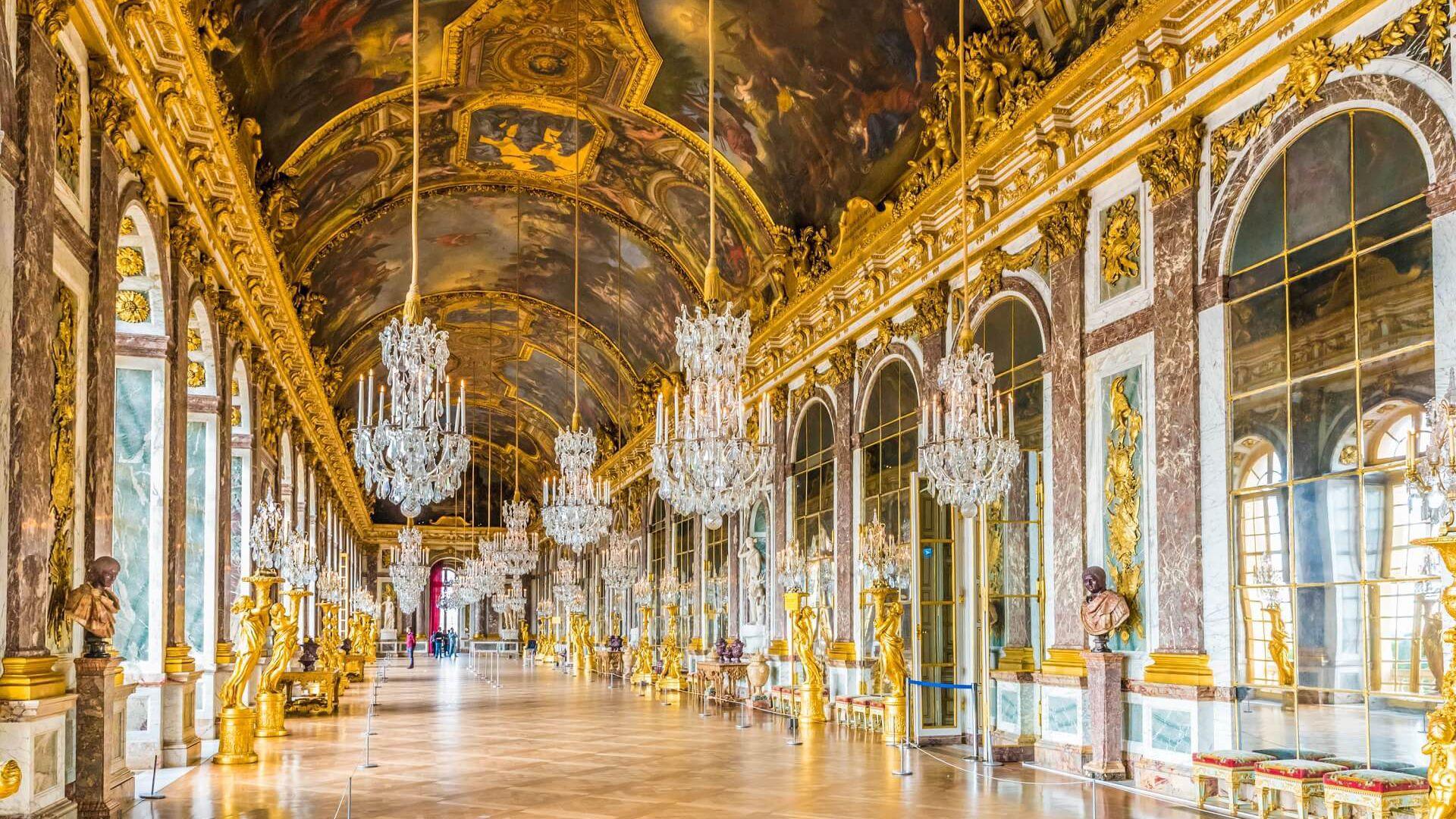 Versailles: The Grand Apartments Admission Ticket & Audio Tour