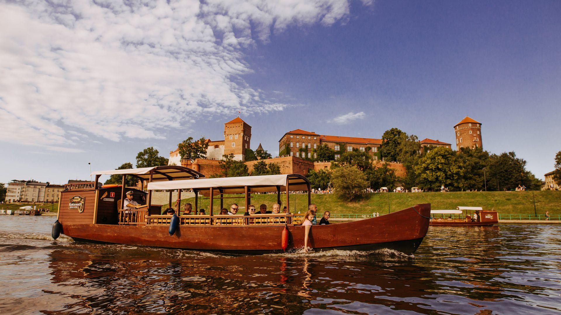 1-Hour Vistula River Night Cruise