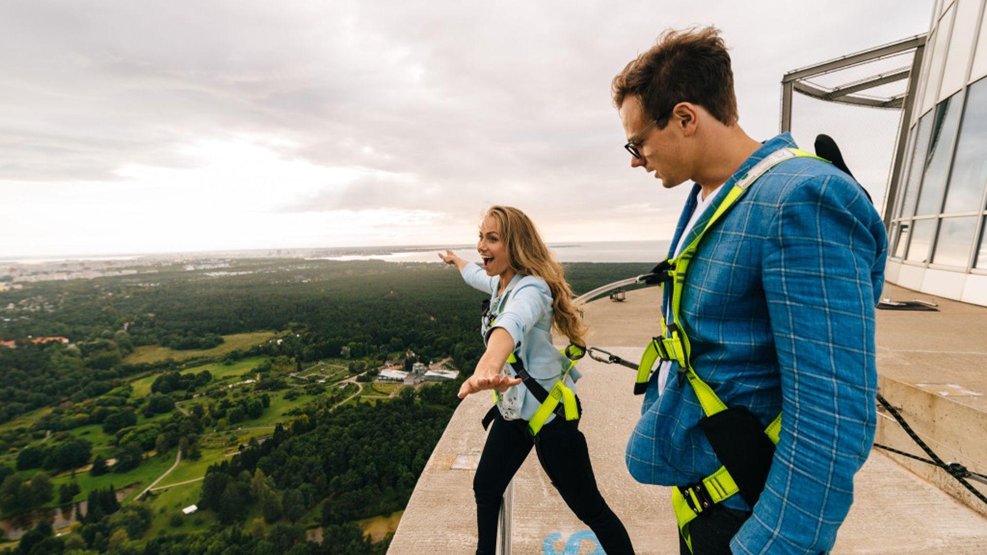 Tallinn TV Tower: Walk on the Edge