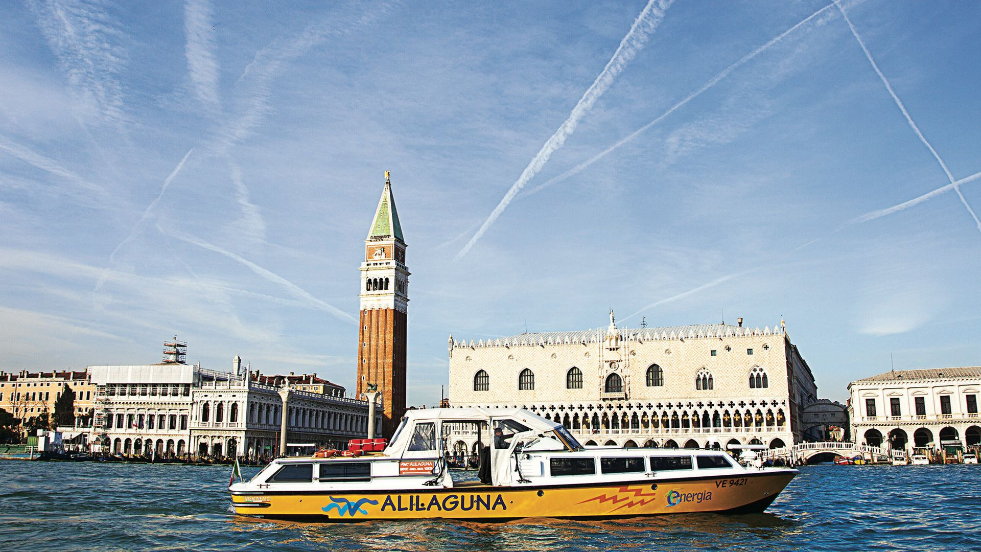 Alilaguna Boat Transfer between Venice Marco Polo Airport and Venice