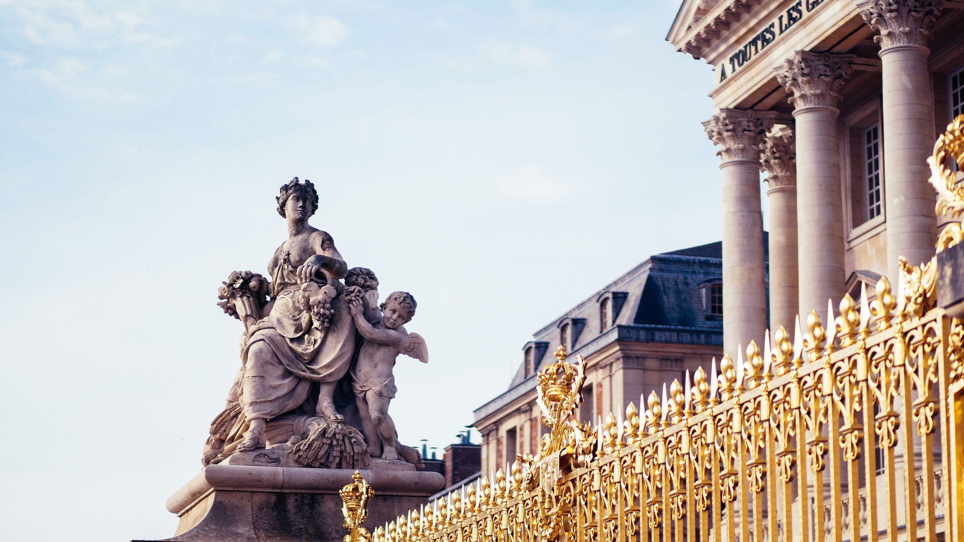 Versailles & Gardens: Ticket & Self-Guided Audio Tour