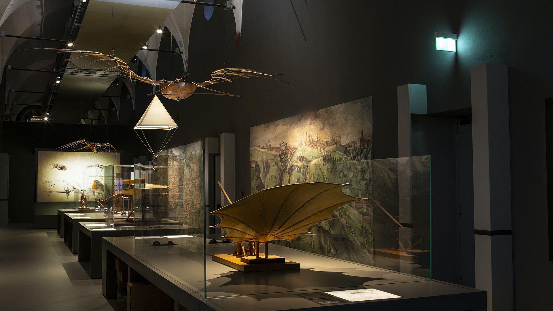 Museum Science and Technology Leonardo da Vinci: Fast Track