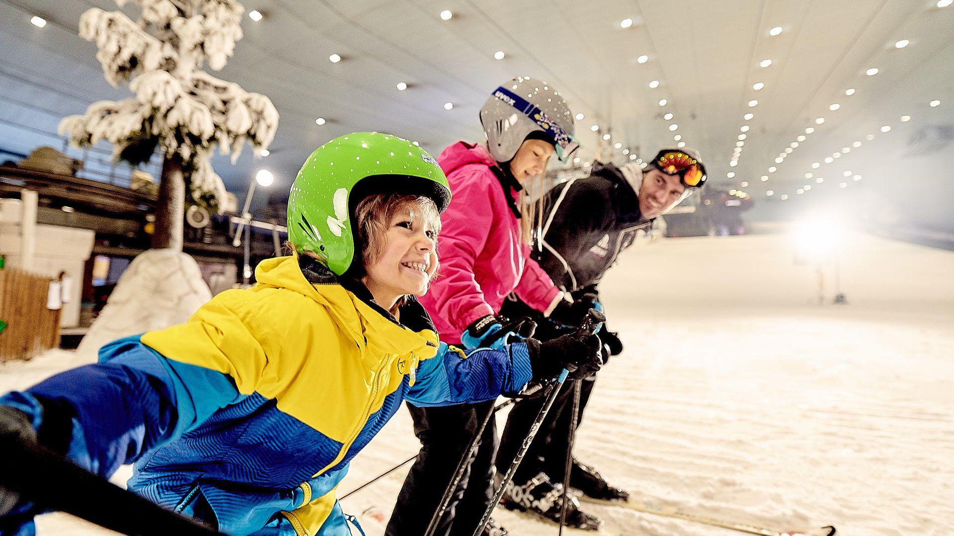Ski Dubai Ski Slope: Fast Track
