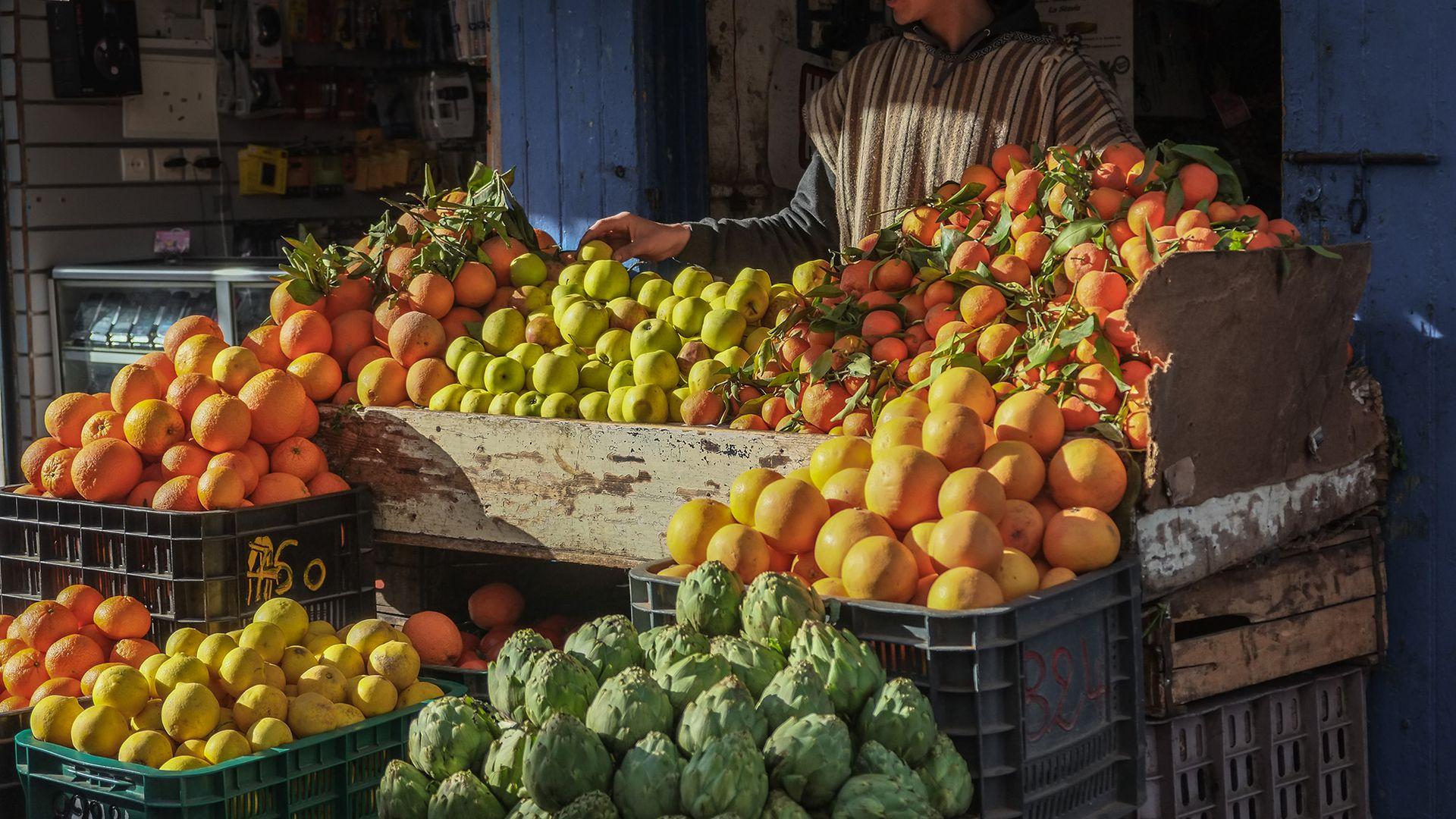 Рынок Кармель и квартал Керем А Тейманим