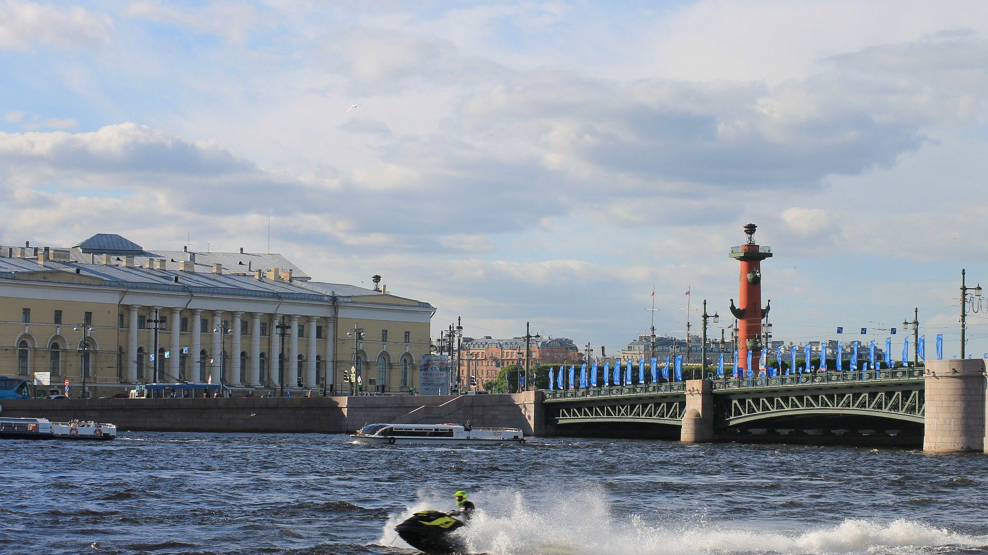 Знакомство с Петербургом: от Биржи к Адмиралтейству